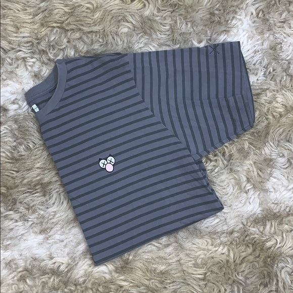 Uniqlo Other - UNIQLO X KAWS STRIPED SHIRT